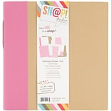 Simple Stories Sn@p! Binder, 6 x 8, Pink