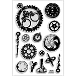 Stampendous® 4 x 6 Perfectly Clear Stamp, Steampunk Gears