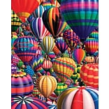 White Mountain Puzzle 24 x 30 Jigsaw Puzzle,  Hot Air Balloons
