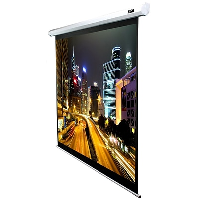 Elite Screens® Spectrum Series 120 Electric Projection Screen; 4:3, White Casing