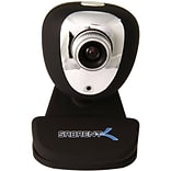Sabrent SBT-WCCK USB Webcam With Microphone; 352 x 288; Black/Silver