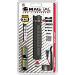 MAGLITE® MAG-TAC™ 4 Hour Crowned-Bezel LED Flashlight, Matte Black