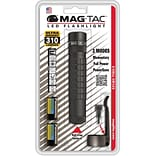 MAGLITE® MAG-TAC™ 4-17 Hour Plain-Bezel LED Flashlight, Matte Black