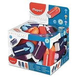 Helix Universal Gomstick Erasers Classpack, Assorted