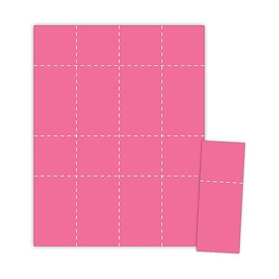 Blanks/USA® 2 1/8 x 5 1/2 Digital Event Ticket, Pink, 400/Pack