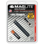 MAGLITE® Solitaire® 1.45 Hour Single Cell AAA LED Flashlight, Black