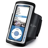 iLuv® ICC213 Armband Case With Reflector For iPod Nano 5th Generation,  Black