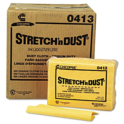 Chix Chicopee 17 Stretch n Dust Cloth, Yellow