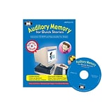 Super Duper® Auditory Memory For Quick Stories Interactive CD-ROM