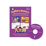 Super Duper® Auditory Memory High-Interest Quick Stories™ Version 2.0 Interactive CD-ROM