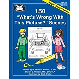 Super Duper® 150 Whats Wrong With This Picture? Scenes Book, Grades PreK-3