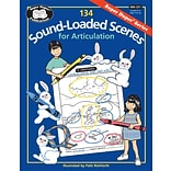 Super Duper® 134 Sound-Loaded Scenes for Articulation Book