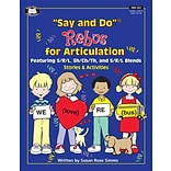 Super Duper® Say and Do Rebus® for Articulation Stories and Activities Book