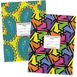 Super Duper® Neon Checkerboard Folder, 10/Pk