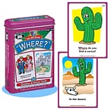Super Duper® Ask and Answer® Where Cards