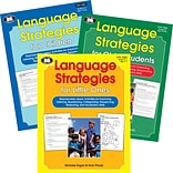 Super Duper® Language Strategies Book Combo For Little Ones, Children, and Older Students, 3/Bundle