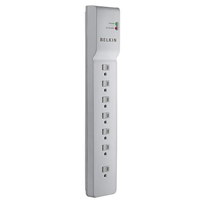 Belkin® 7-Outlet 750 Joule Commercial Surge Protector With 6 Cord