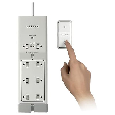 Belkin® 8-Outlet 1000 Joule Conserve Switch Surge Protector With 4 Cord