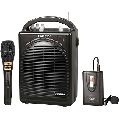 Pyle® PWMA200 Rechargeable Portable PA System; 80 W