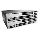 Cisco® Catalyst 3850 PoE IP Managed Gigabit Ethernet Switch; 48-Ports (WS-C3850-48P-E)
