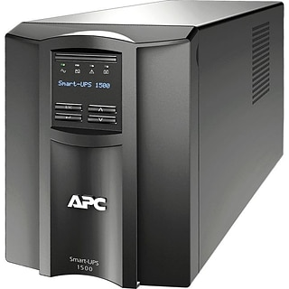 APC® Smart-UPS SMT1500US Line Interactive 1500VA UPS; Black