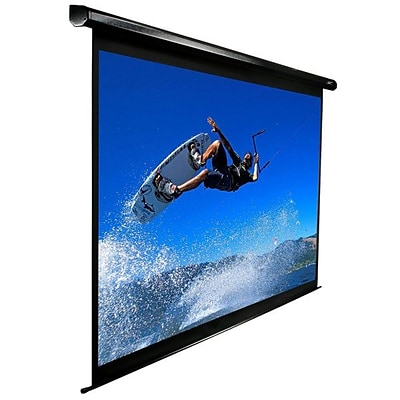 Elite Screens® VMAX2 Series 92 Electric Projection Screen; 16:9, White Casing