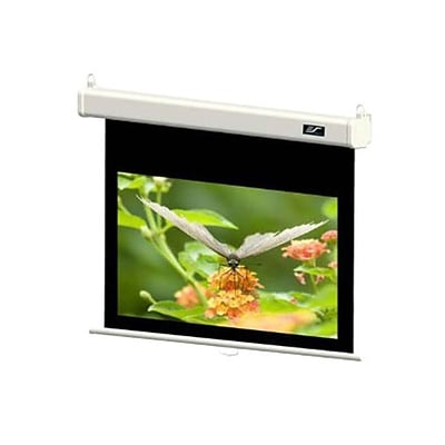 Elite Screens® Manual SRM Pro Series 84 Manual Projection Screen; 16:9, White Casing