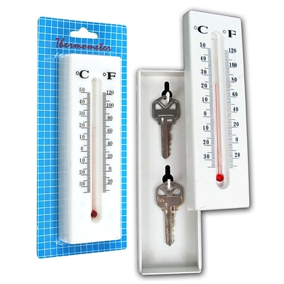 Trademark Home™ 72-48149 Home Collection Hide A Key Thermometer