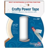 3L 1/4 x 81 Crafty Power Tape With Built-in Dispenser