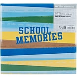 MBI School Memories Postbound Album, 12 x 12, Blue/Green