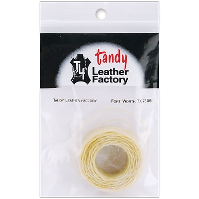 Leather Factory™ 25 yds. Waxed Thread, Natural