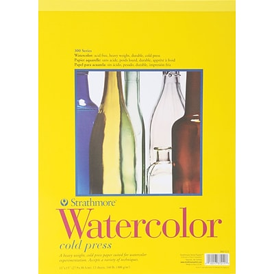 Strathmore® 11 x 15 Strathmore Watercolor Cold Press Paper Pad