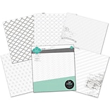 Heidi Swapp 12 x 12 Paper Pack, Color Magic Resist, 12/Pack