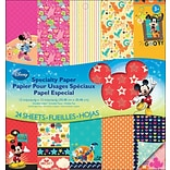 EK Success™ 12 x 12 Double-Sided Specialty Paper Pad, Disney Mickey Family