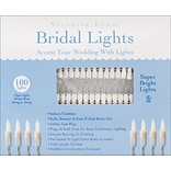 Darice® 32 Bridal Lights With White Wire, Clear