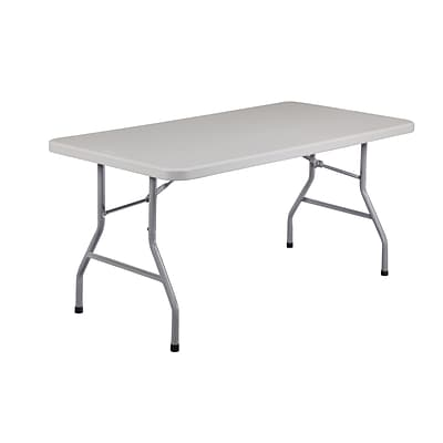National Public Seating 60 Folding Table, Gray (BT30601)