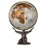 Replogle 12 Atlas World Globe, Bronze Metallic Ocean