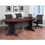 Altra Furniture Pursuit Small Conference Table, CHERRY
