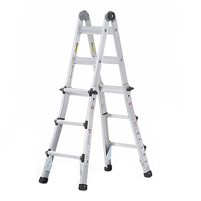 Cosco Products Cosco 13 Multi-Positon Ladder System; ALUMINUM YELLOW TYPE 1A