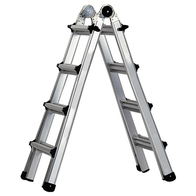 Cosco Products Cosco 17 Multi-Positon Ladder System; ALUMINUM YELLOW TYPE 1A