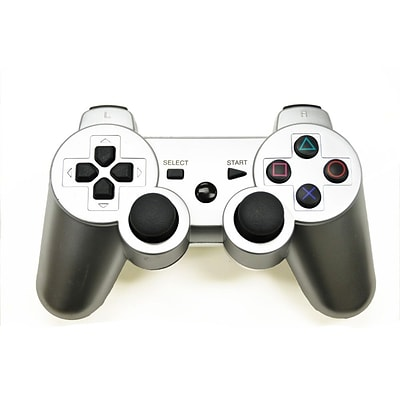 Arsenal Gaming PS3 Wired Controller; Silver