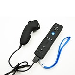 Arsenal Gaming Wii Nunchuk and Remote Combo Kit; Black