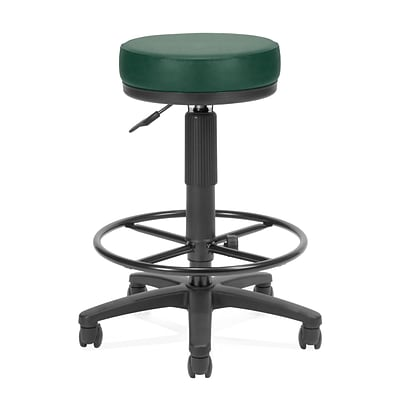 OFM™ 3 Anti-Bacterial Vinyl Padded Utilistool With Drafting Kit, Teal
