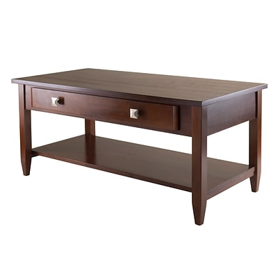 Winsome Richmond 20.53 x 40 x 18.11 Wood Coffee Table Tapered Leg, Brown