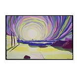 Trademark Fine Art Whirling Sunrise, La Rocque 16 x 24 Canvas Art
