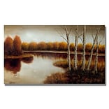 Trademark Fine Art Splendor 24 x 47 Canvas Art