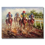 Trademark Fine Art Kentucky Derby 22 x 32 Canvas Art