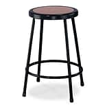 National Public Seating 24 Task Stool, Black, 4/Pack (62244)