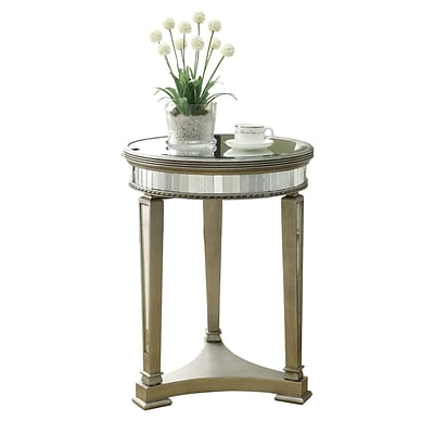 Monarch 20 Accent Table, Mirrored