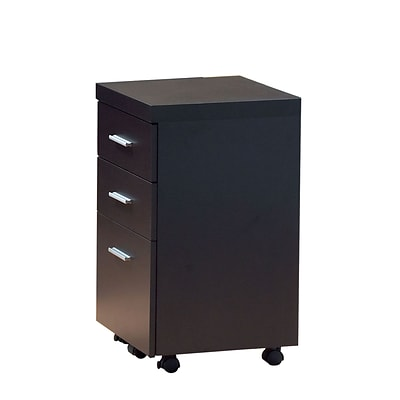 Monarch 16d Hollow Core 3 Drawer File Cabinet Cappuccino